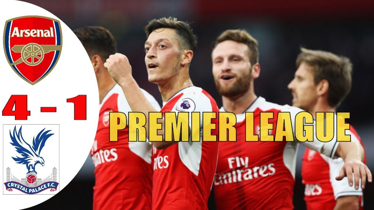 Download Arsenal 4 - 1 Crystal Palace Highlight & All Goals Premier League 2017