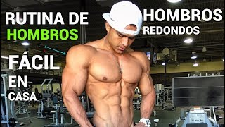 RUTINA DE HOMBROS FACIL EN CASA CON LIGAS I Ismael Martinez
