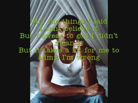 Last Chance Ginuwine w/ lyrics on video