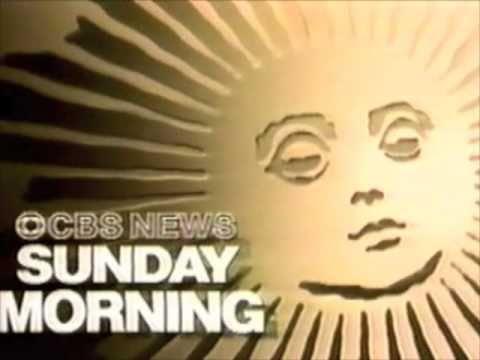 cbs news sunday morning promo with charles kuralt 1990 youtube
