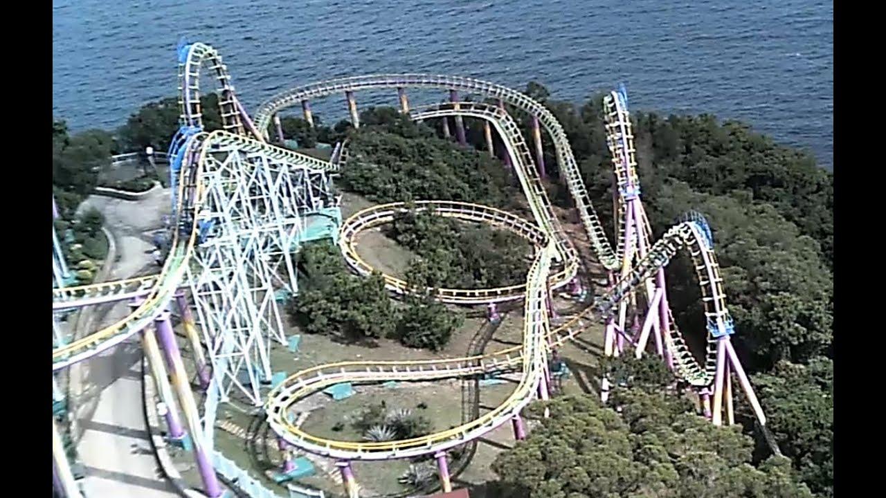 Dragon Coaster Ocean Park Hong Kong Youtube