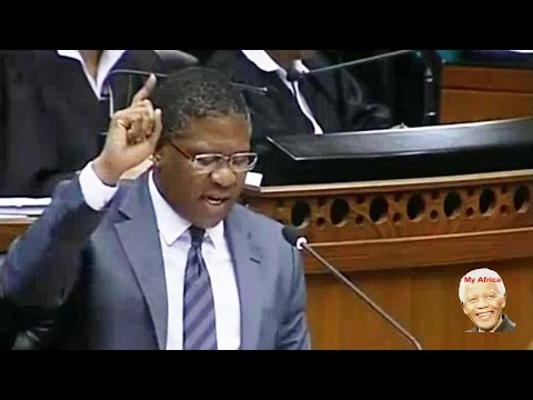 "Sport Minister Fikile Mbalula ""Insults"" Opposition Parties In Parliament."