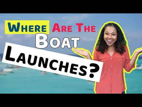 Destin - Fort Walton Beach Florida Boat Launches