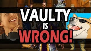 "VAULTY IS WRONG - Debunking ""5 WORST Class Specs In Classic WoW"""