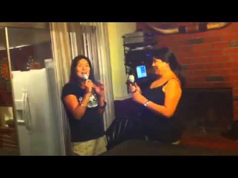 Dede and Frannie- Karaoke