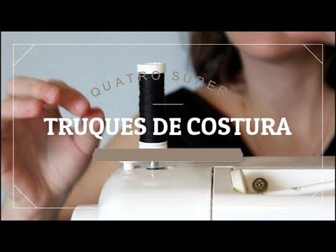 Quatro truques INCRÍVEIS de costura
