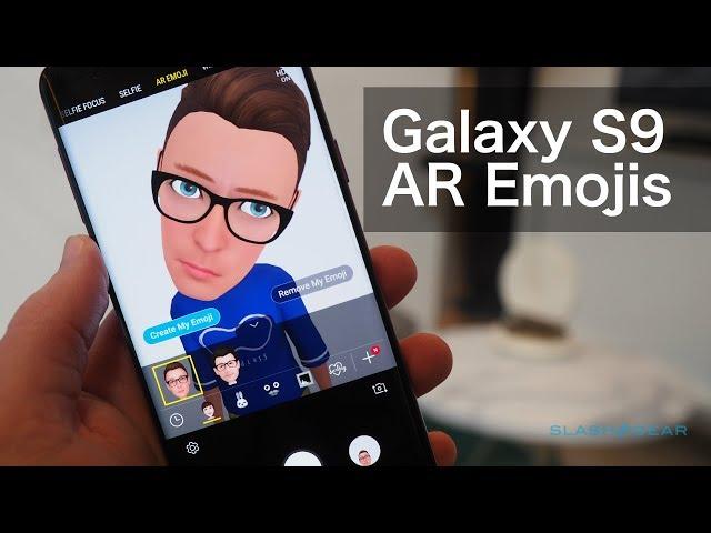 Samsung AR Emoji includes iconic Disney characters - SlashGear