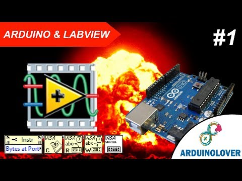 Comunicación ARDUINO Y LabVIEW #1   Salidas Digitales