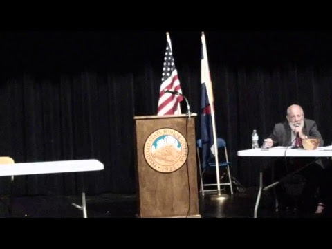 Meet the Candidates 2017, Trinidad and Las Animas County Colorado