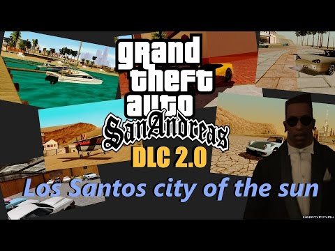 Обзор модов GTA San Andreas #293 - DLC 2.0 Car Garage of GTA online