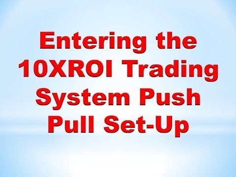 Forex Price Action Trading : How to enter the 10XROI Trading System Push Pull Set-Up
