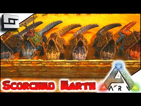 ARK: Scorched Earth - THORNY DRAGON EGG FARM! E39 ( Ark Survival Evolved Gameplay )