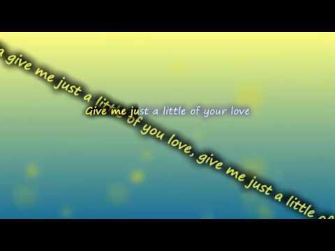 HAIM BloodPop - Little of Your Love ( lyrics ) | VEVO LYRICS VIDEO