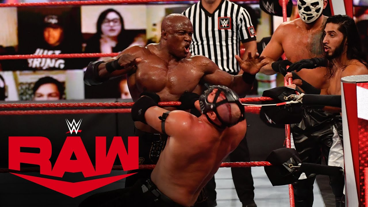 The Hurt Business vs. RETRIBUTION: Raw, Oct. 19, 2020