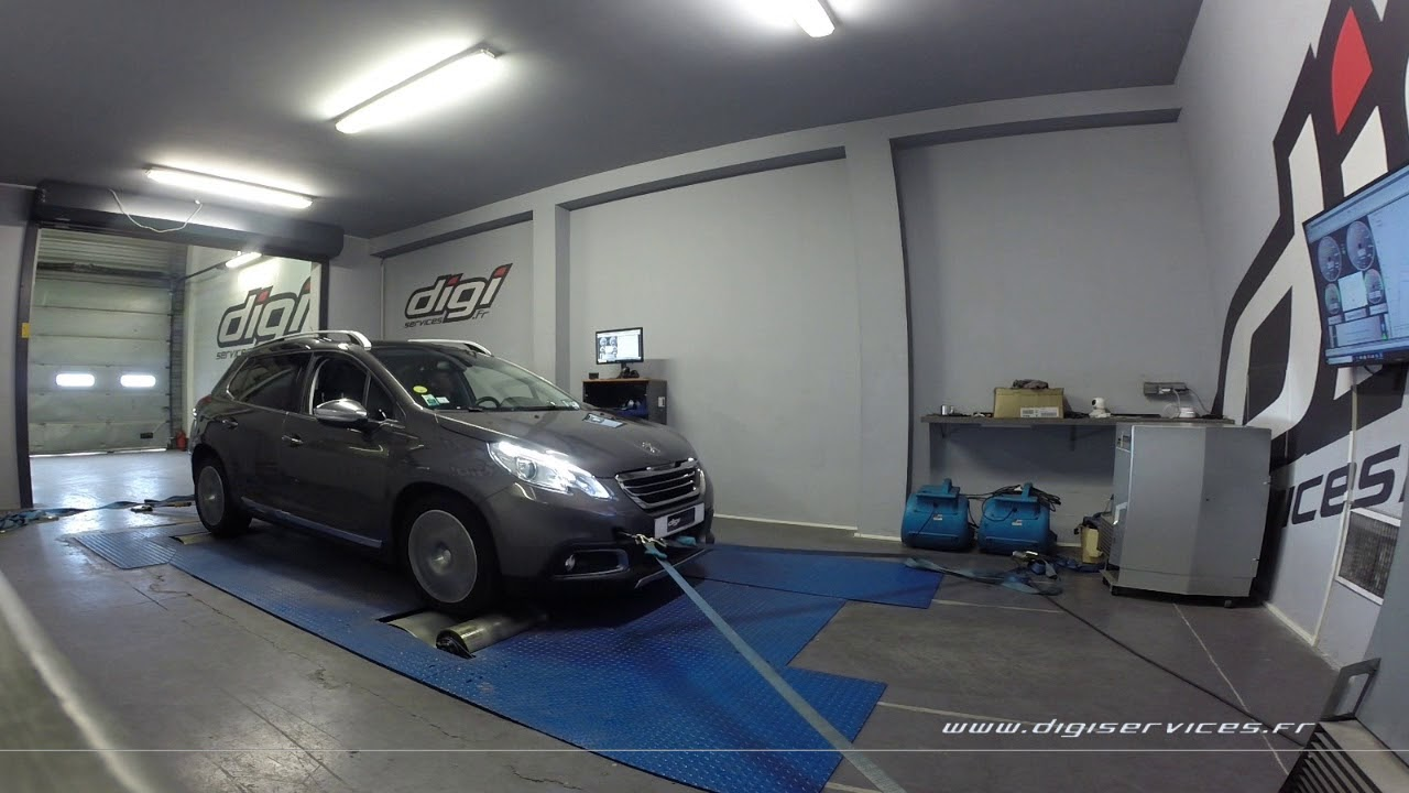 Garage Peugeot Paris Peugeot 2008 1 6 Hdi 115cv Reprogrammation Moteur 139cv Digiservices Paris 77 Dyno