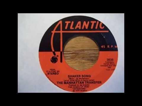 SHAKER SONG LYRICS- MANHATTAN TRANSFER