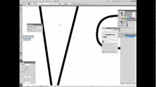 Tutorial on how to create sharp line taper endpoints in Adobe Illustrator- Swiftyspade