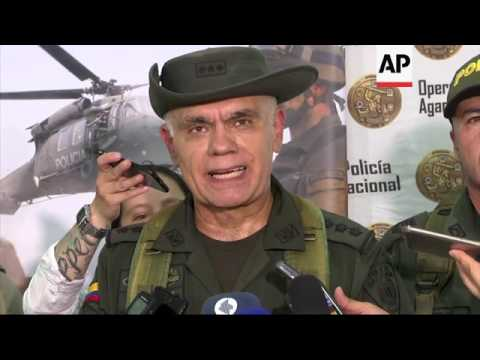Colombian police offer reward for drug lord