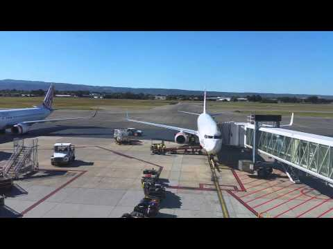 Virgin Australia, Melbourne to Adelaide, Takeoff & Landnig