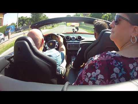 Ferrari California Turbo 560cv Test Drive in Maranello James & Ann Rosa