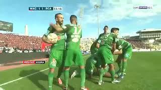 Raja 2:1 wac Rusimi de matche derby 123