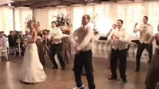 Amy & John Tracy Wedding - Night Fever Dance
