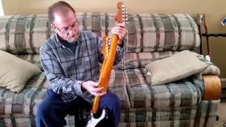 Video Custom Stratocaster Relic '59 Maple W Rosewood Neck, '61 Klein Pickups, MJT Finish-Black download MP3, 3GP, MP4, WEBM, AVI, FLV Juni 2018
