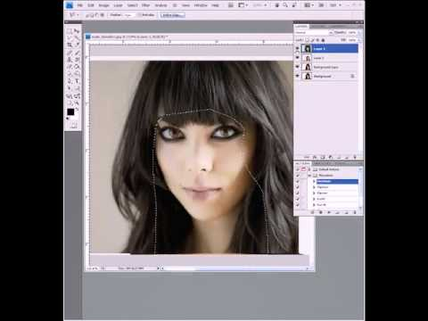 Photoshop Tutorial Face Swap
