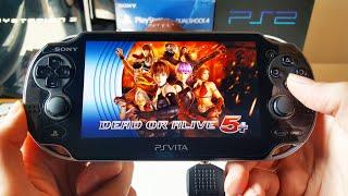 Dead Or Alive 5 Plus Gameplay - PS Vita 2019