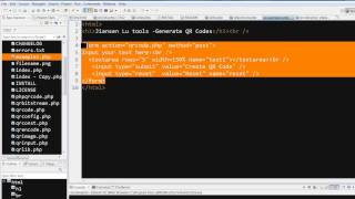 PHP: QR code generator