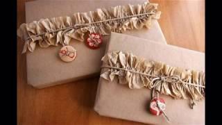 Упаковываем подарки! Новогодние идеи!