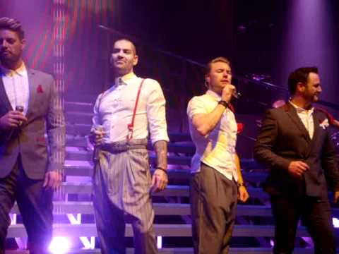 Boyzone - You Needed Me - Castlebar(so funny! keith and shane!!)