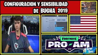✅😱 OF BUGHA 2019, 💯 BUGHA SENSIBILIDAD IN FORTNITE 👑 #BUGHA #CAMPEON
