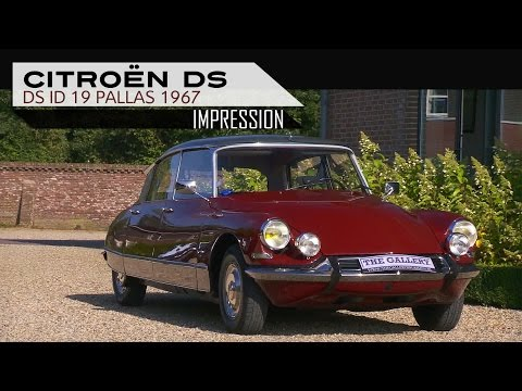 CITROËN DS ID 19 PALLAS 1967 - Modest test drive - Engine sound | SCC TV