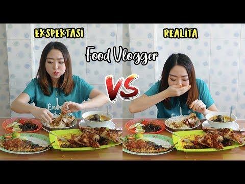 EKSPEKTASI vs. REALITA FOOD VLOGGER YANG TIDAK KAMU KETAHUI!!