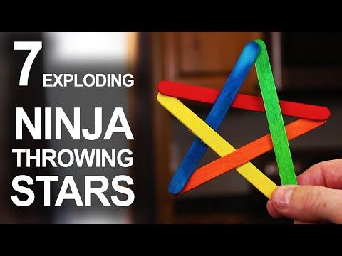 7 Ways To Make Exploding Ninja Stars