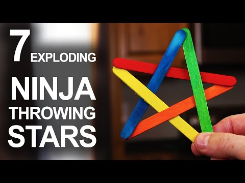 7 Ways To Make Exploding Ninja Stars