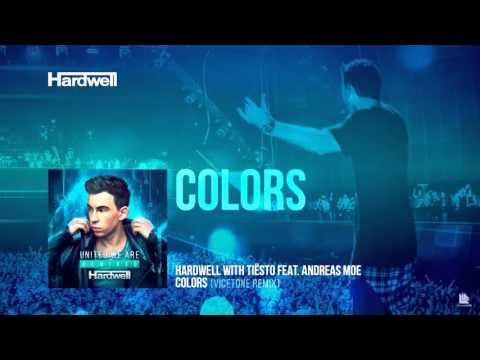 Hardwell and Tiesto - Colors (feat. Andreas Moe) (Vicetone Remix)