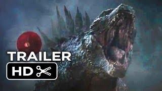 Godzilla Official Trailer - Courage (2014) - Bryan Cranston, Ken Watanabe Monster Movie HD thumbnail