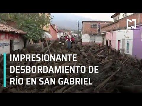 Atienden emergencia por crecida de río San Gabriel, Jalisco - Despierta con Loret