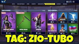 FORTNITE SHOP today 3 May skin DUELLANTE AUDACE, STERLING, TRITAALL and pickaxe PIETRA FOCAIA