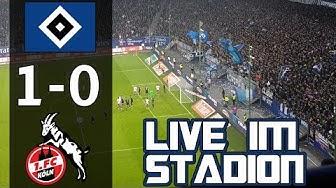 HSV vs 1.FC Köln | Live im Stadion