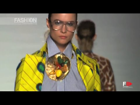 """ETHICAL FASHION INITIATIVE"" with STELLA JEAN Collective Show ALTA ROMA Fall Winter 2014 2015"