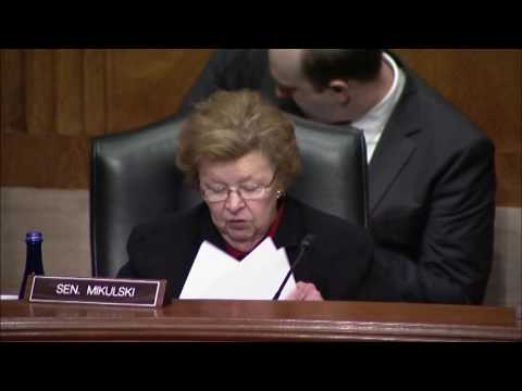 Mikulski Co-Chairs Bipartisan Senate HELP Committee Hearing on Dyslexia