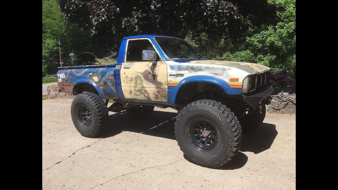 toyota 1st generation 4x4 1983 toyota truck  [ 1280 x 720 Pixel ]