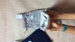 Видеообзор штаны спортивные Carters котон прямые