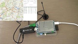 ADB-S / DVB-T/ RASPBERRY PI/ Flight Radar Tracker/ 2014