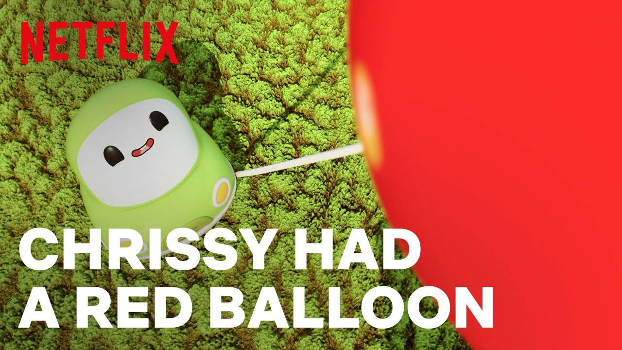 """""""Chrissy Had a Red Balloon"""" Nursery Song for Kids   Go! Go! Cory Carson   Netflix Jr"""