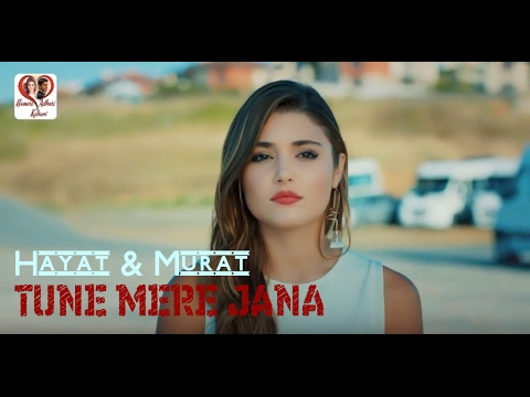 TUNE MERE JANA Emptiness Female Version With Lyrics || Hayart And Murat