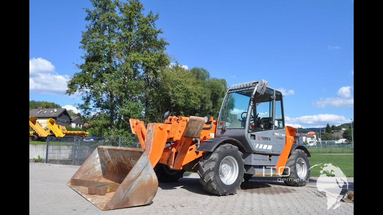 teleskopstapler gebraucht kaufen terex 3013 telehandler used for sale youtube